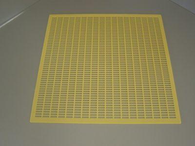 Mateří mřížka žlutá 435x435